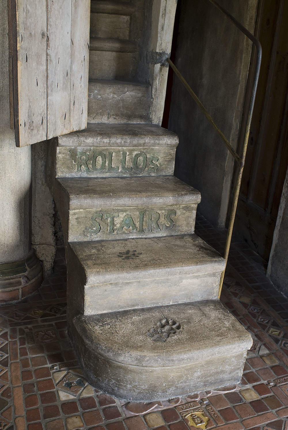 Figure 6: Rollo's stairs in Fonthill. Photograph by Jack Carnell.