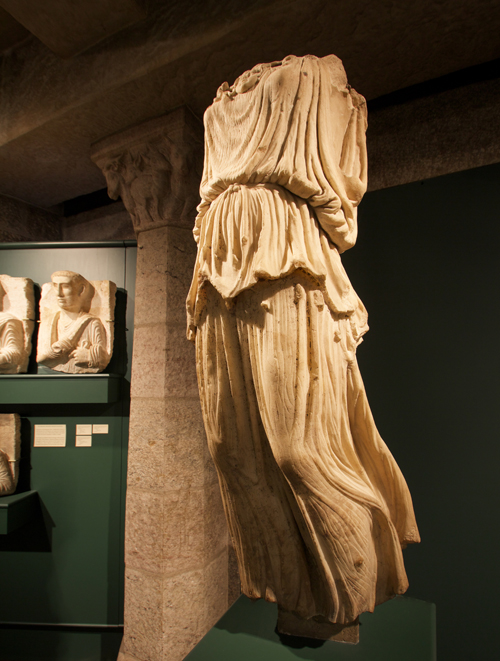 Statue of Minerva Victoria in the Roman Gallery