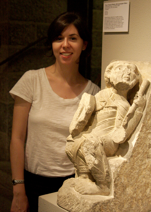 Julia Perratore with a 12th-Century Apocalyptic Elder from Southwest France