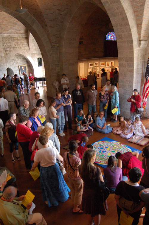 Sand Mandala at Glencairn, 2007