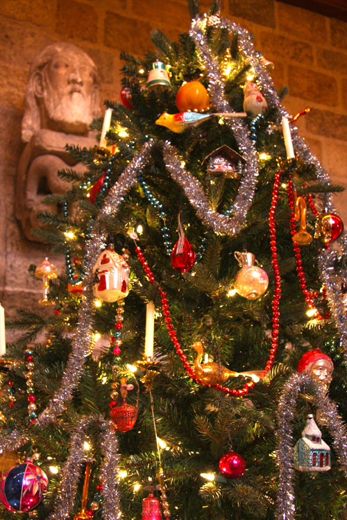 Tree with Medieval Head of Christ