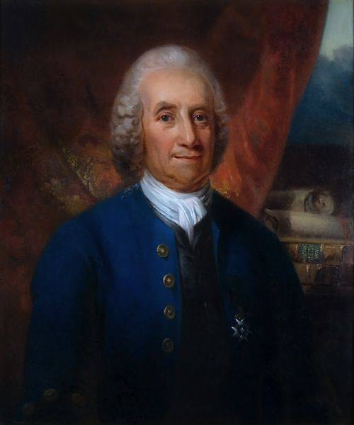 Portrait of Emanuel Swedenborg By Carl Fredrik von Breda