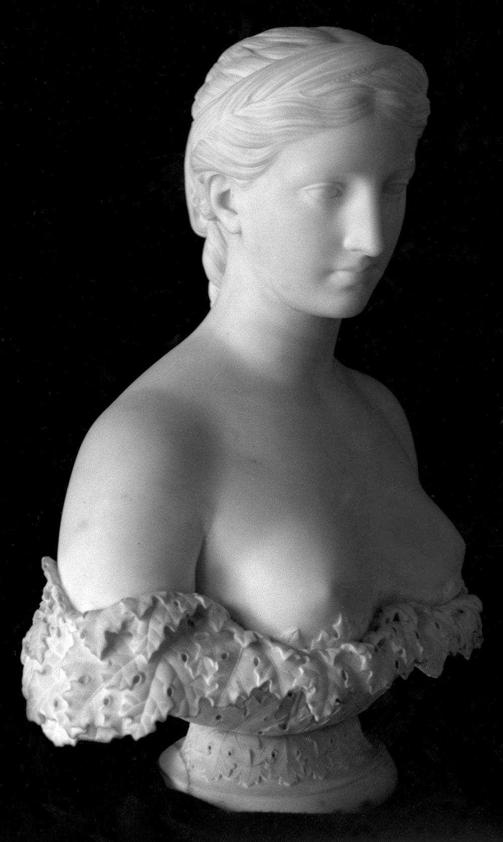 """Proserpine,"" Hiram Powers (1805-1873) Marble (c. 1845; 09.SP.1639)"