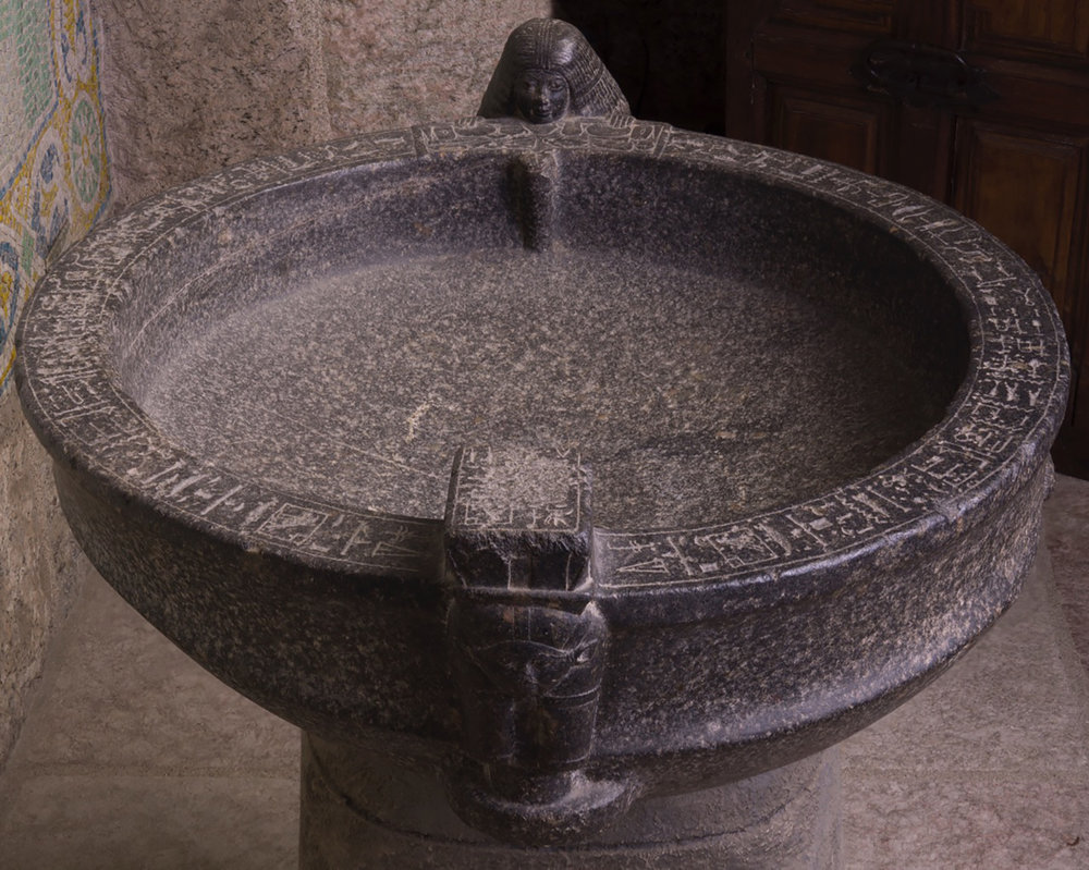 Figure 34: A full view of Glencairn's libation bowl.
