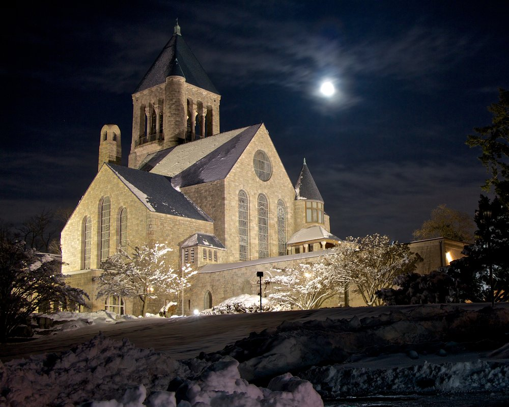 Glencairn under a winter moon