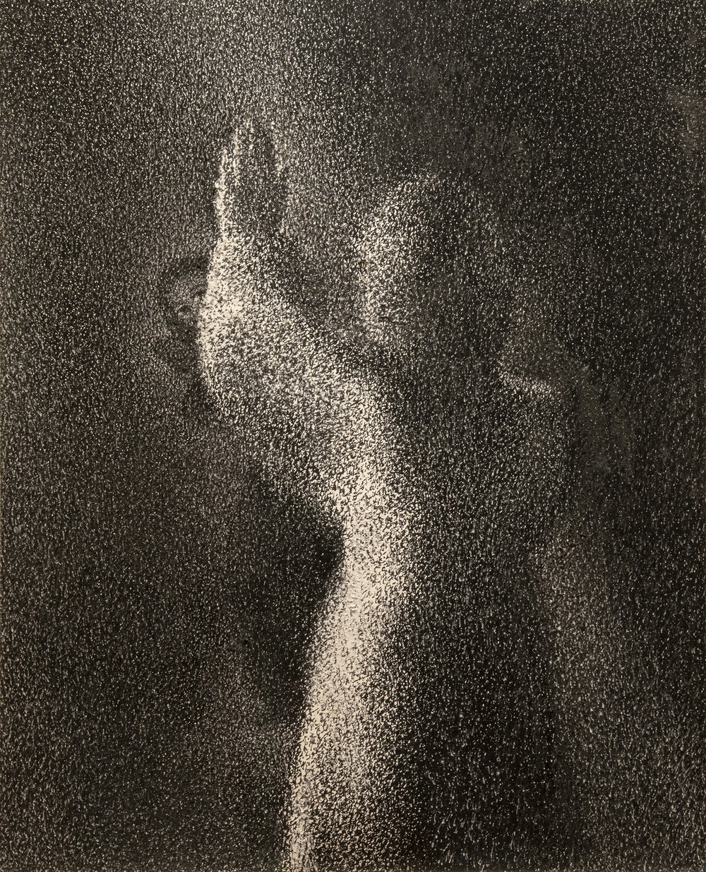 Figure 5:  Annunciation to Mary .  Luke 1:26-38 . Pen and ink, 1979. On loan from Miriam Yardumian.