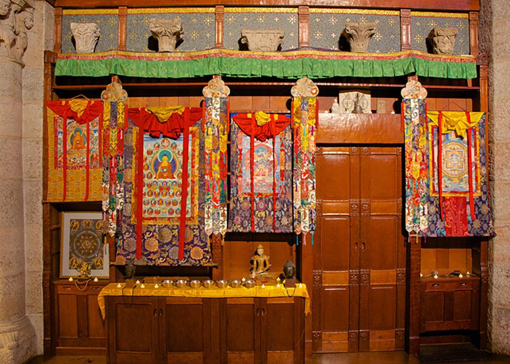 Figure 7: Tibetan Buddhist Altar in Glencairn Museum