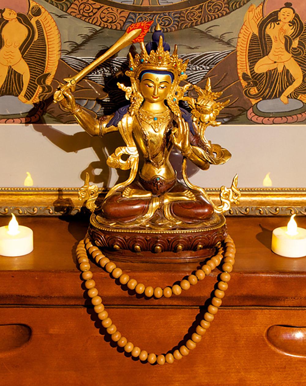 Figure 11:Beads on Altar