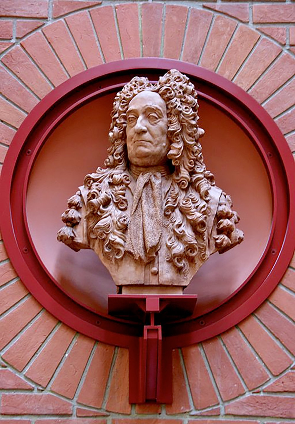 Figure 2: Bust of Sir Hans Sloane (1660-1753) in the British Library.