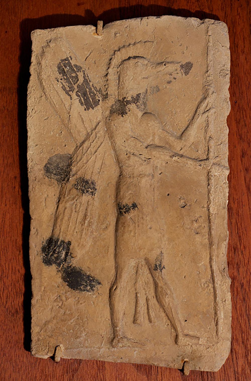 Figure 2: Terracotta plaque with apkalle (01.RF.273).