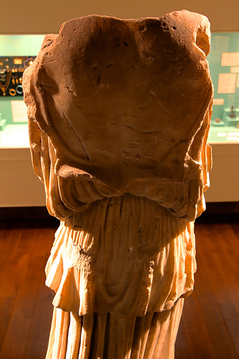 Figure 2: Back View of Statue.