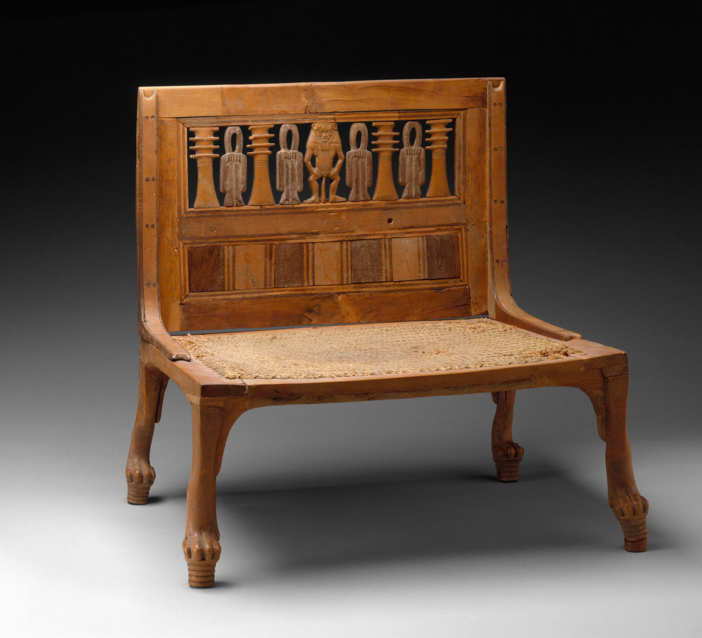Figure 5: Hatnefer's Chair, Rogers Fund, 1936, Metropolitan Museum of Art, 36.3.152. Image courtesy of The Metropolitan Museum of Art, NYC.