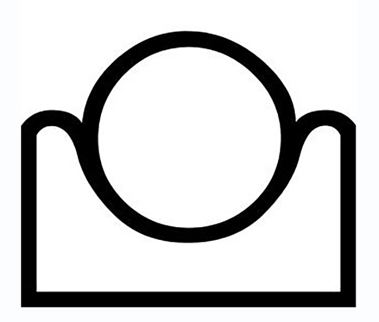 "Figure 10: The Egyptian hieroglyph for ""horizon."""