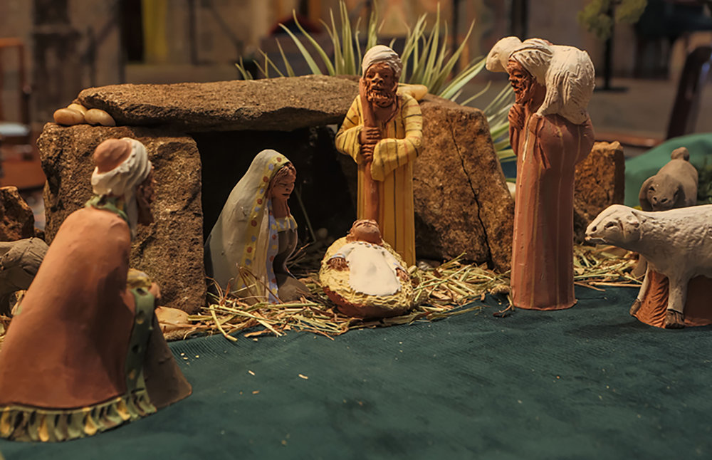 Figure 1: Coptic (Egyptian Christian) Nativity.