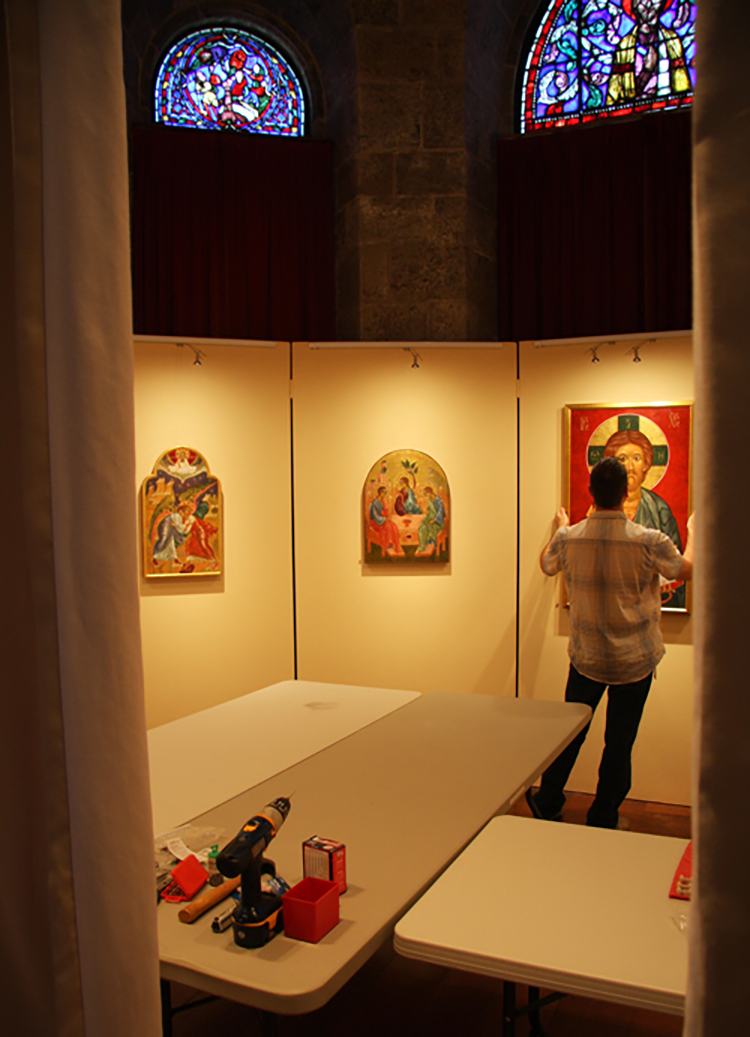 Figure 3: Installation of the exhibition.