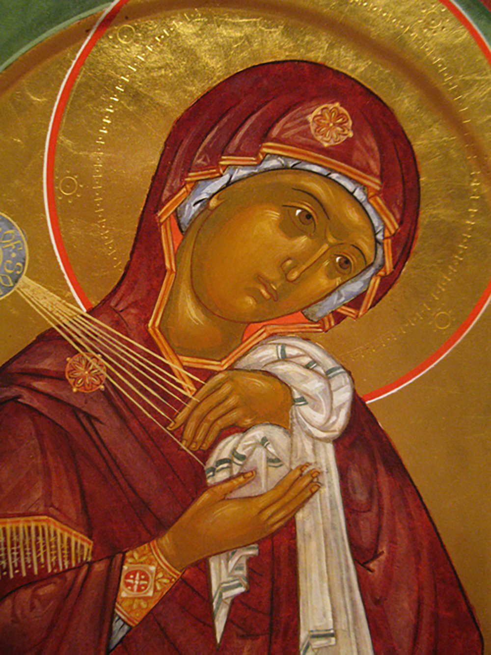"Figure 4: Mary from ""Extreme Humility."""