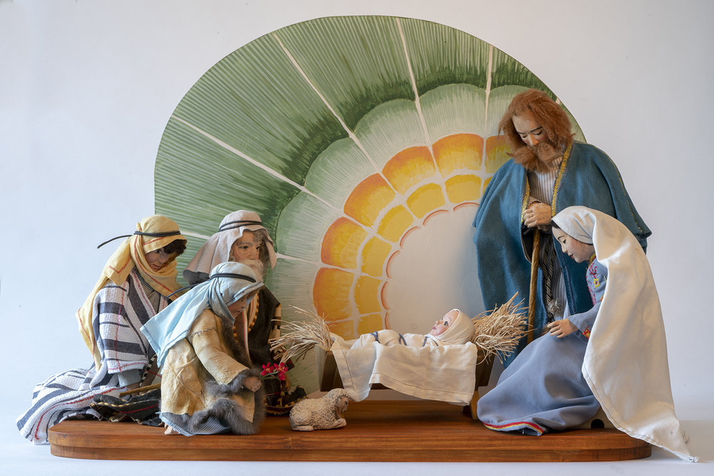 Figure 5: The Adoration of the Shepherds. Nativity by Nancy Schnarr-Bruell, 2018.