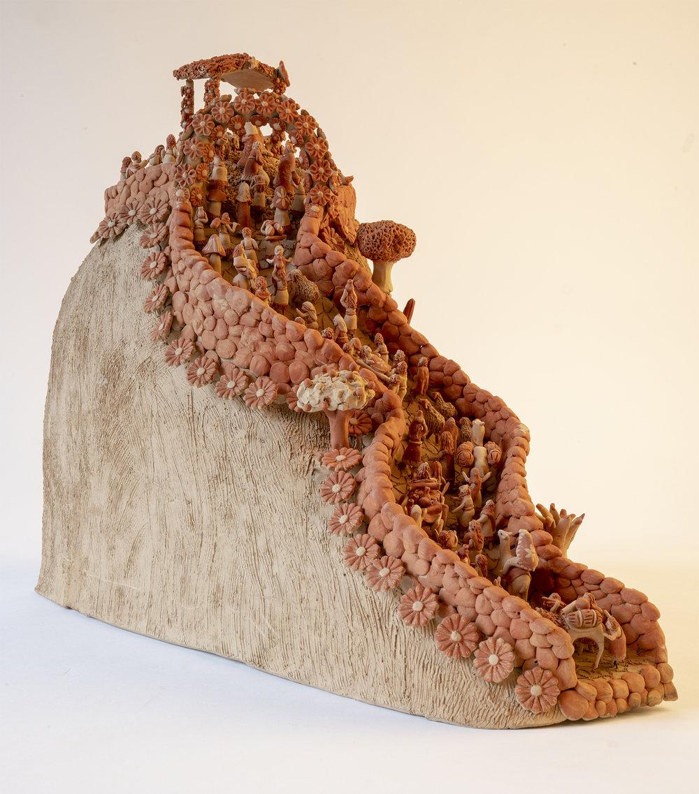 Figure 17:  El Nacimiento En El Cerro  (The Nativity on the Hill), by Carmen Gutierrez Vazquez, 2018.