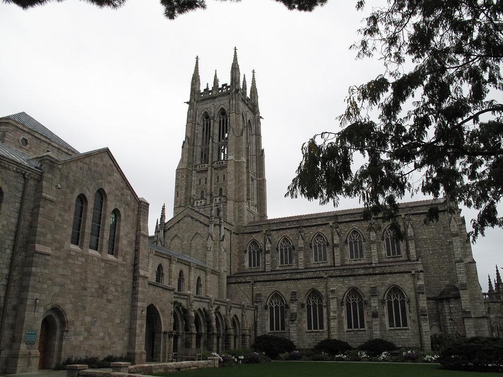 Figure 7: Bryn Athyn Cathedral from the north, 1913–28, Bryn Athyn, Pennsylvania. Photo: Jennifer Borland.