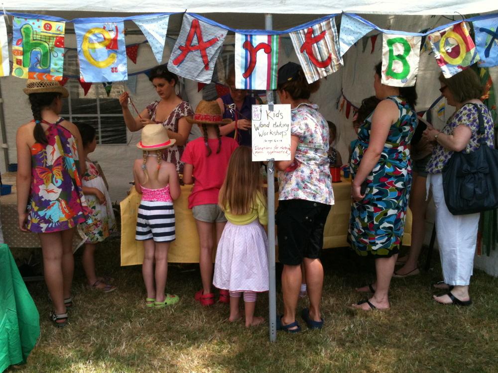 Community workshop, Family Fun Day Gort. .JPG