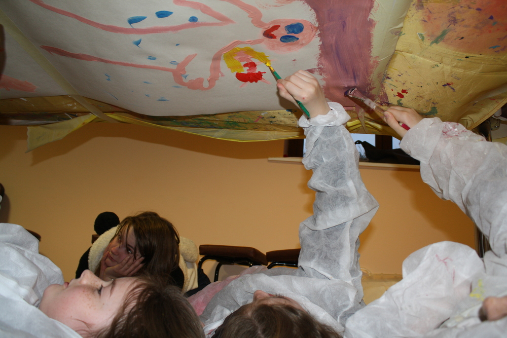 Painting the Sistine Chapel! .JPG