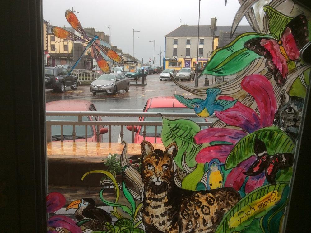 Window art, Gallery cafe .JPG