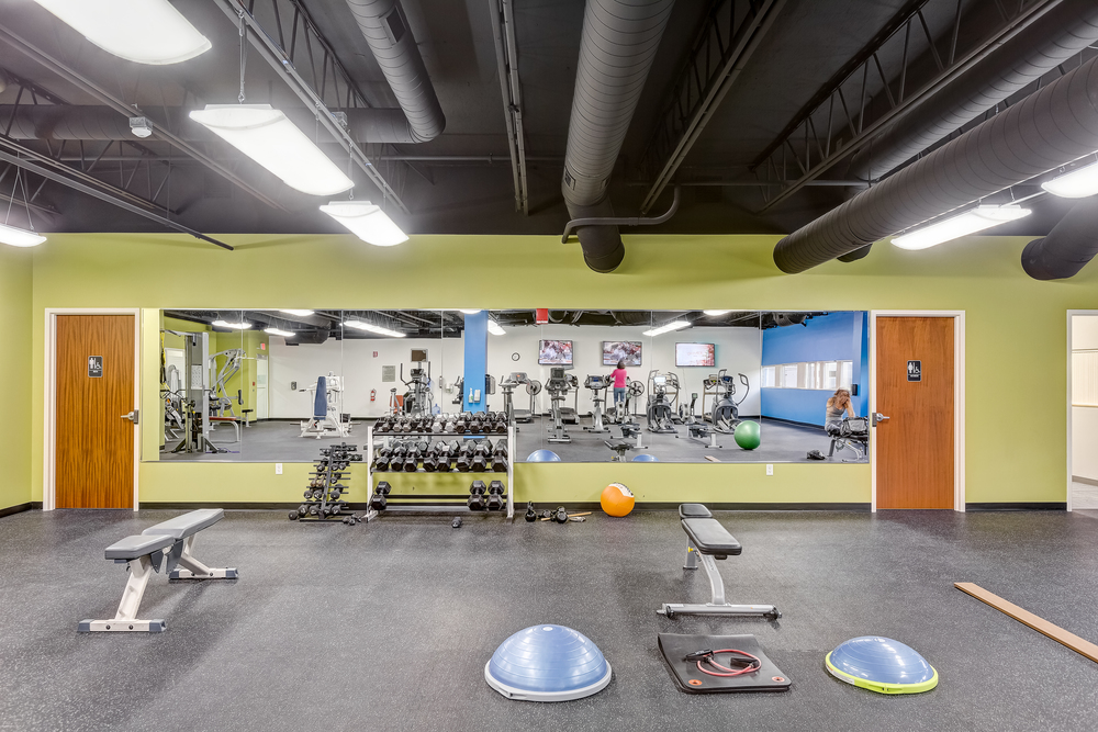 Newly built 4,000 Square Foot Fitness Center and Spa