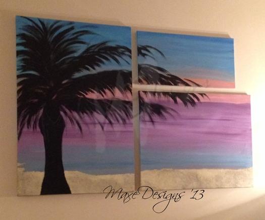 Nicole Custom Art Design by Molly Axe, Maxe Designs, LLC 2015