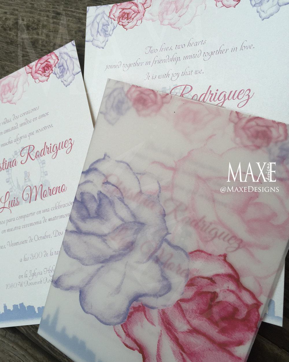 One Of A Kind Maxe Wedding Designs Maxe Designs