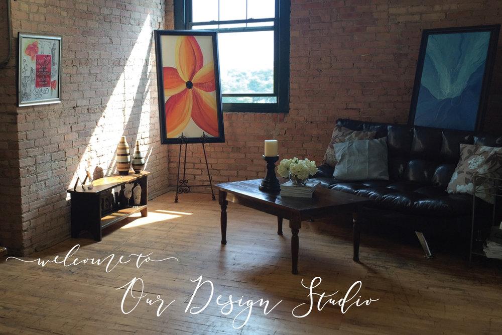 Our Fine Art & Design Studios - are located in both Chicago, Illinois & in Grand Rapids, Michigan.