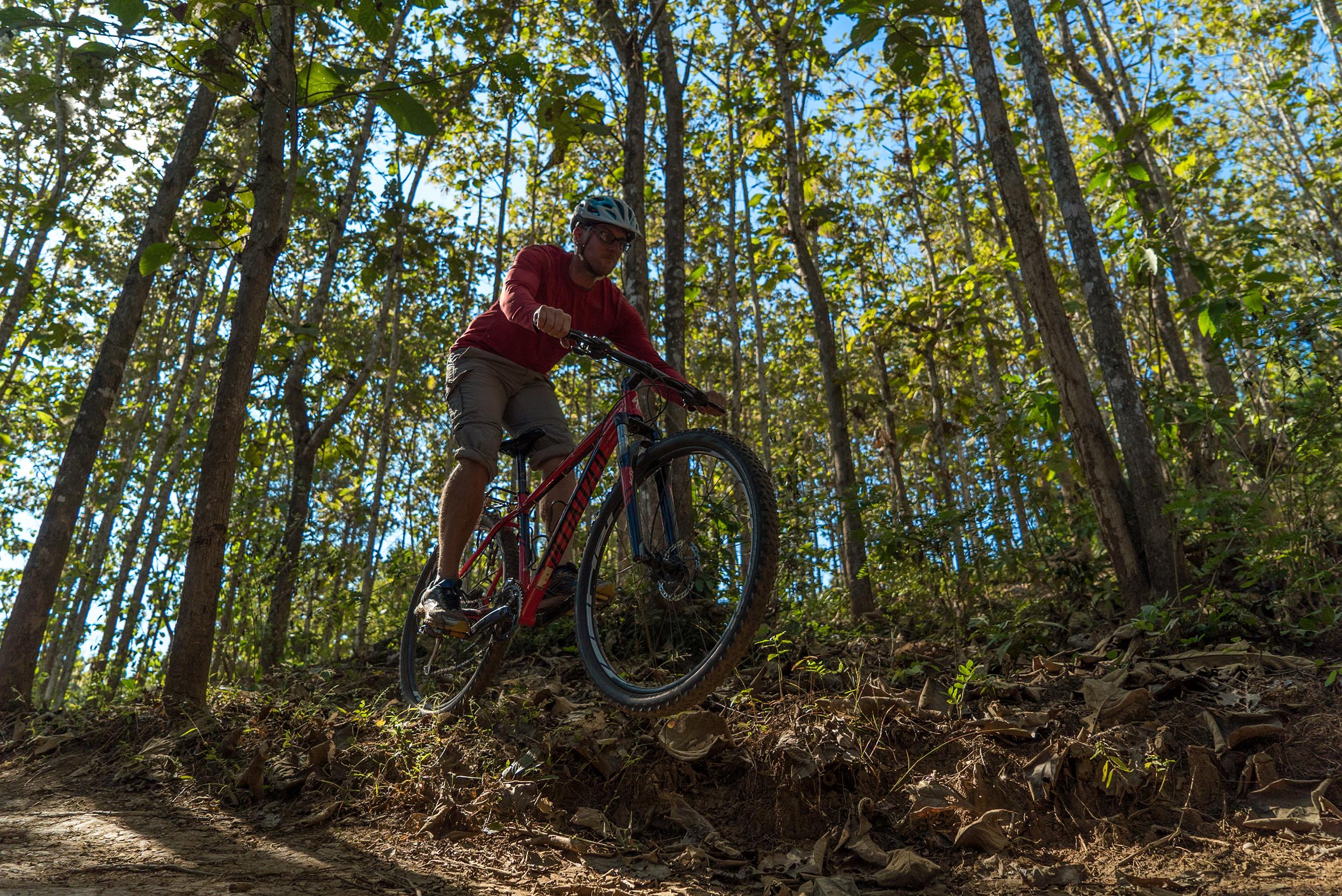 Mountain Biking in Laos