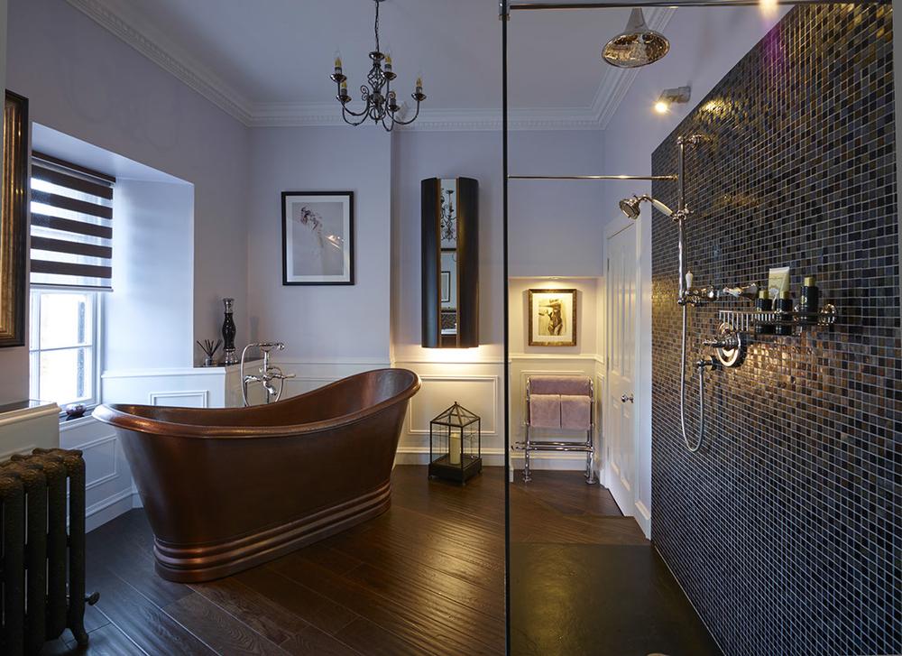 A Blissful Copper Bath