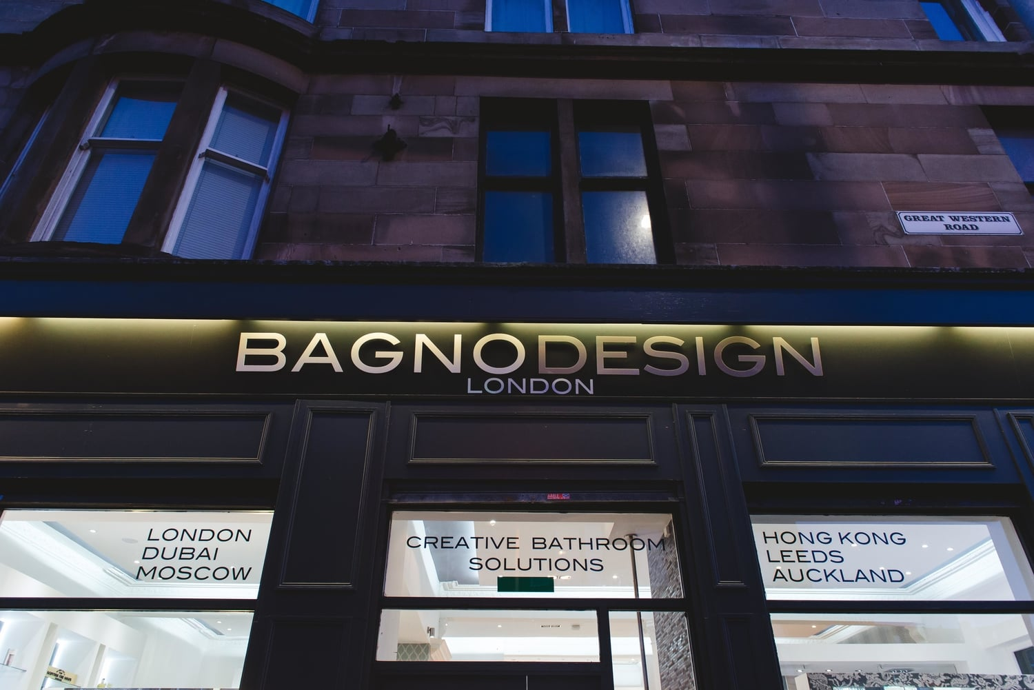 Visit our showroom u2014 bagnodesign luxury bathrooms glasgow