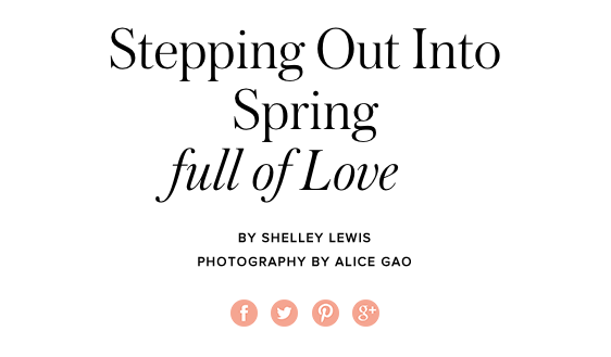 Beauty And Wellbeing - Stepping Out Into Spring