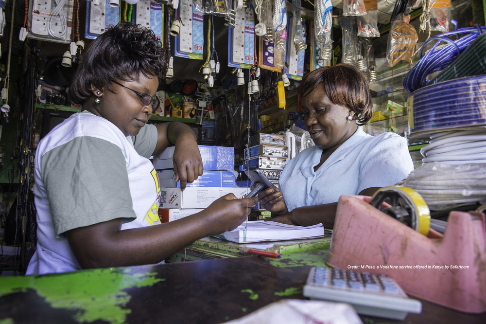 Using Business Relationships   To Drive Inclusive Financial Services   Partner with Us