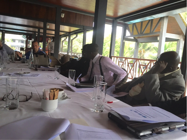 First convening of the Local Reference Group in Accra during FIBR Launch