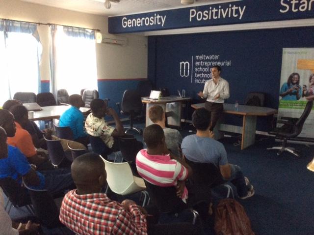 BFA Fintech Talk at MEST Incubator in Accra, Ghana