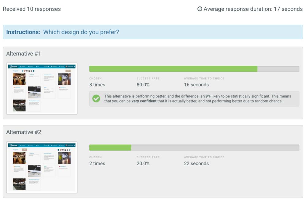 Design Preference Test