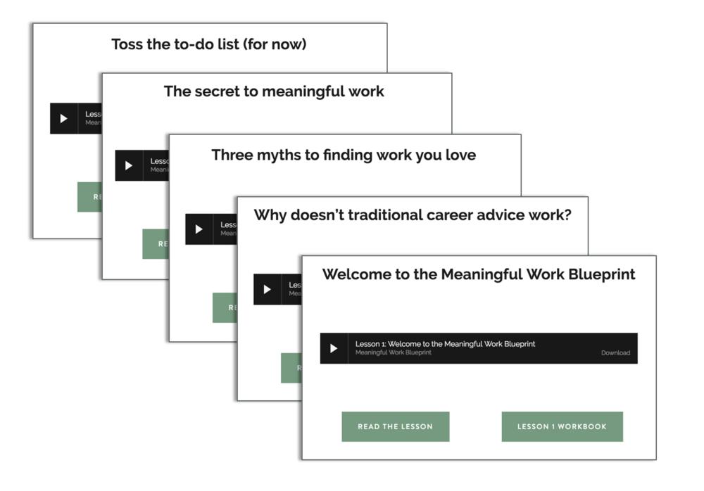 Meaningful Work Blueprint