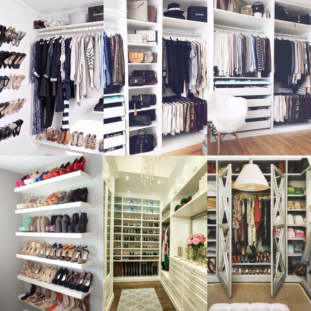 We Love Pretty Closets!!