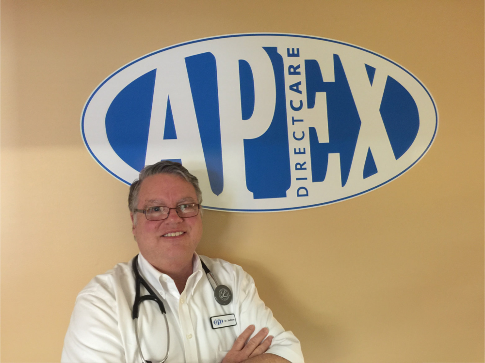 """With APEX you get the best care possible because I work for you, not the insurance companies."""
