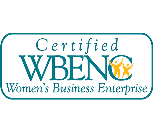 Women's Business Enterprise (WBE) as certified by Washington State (#D1F1021004)