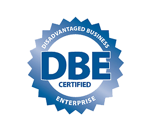 Disadvantaged Business Enterprise as certified by Washington State (#D1F1021004)