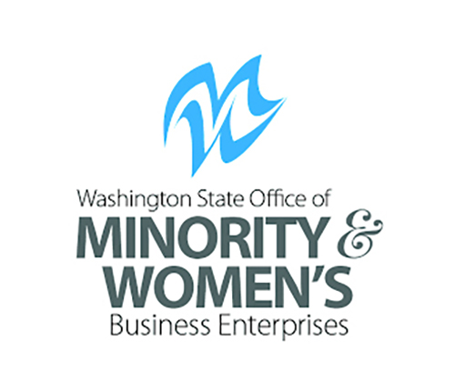 Minority & Women's Businesss Enterprise (MWBE) as certified by Washington State (#D1F1021004)