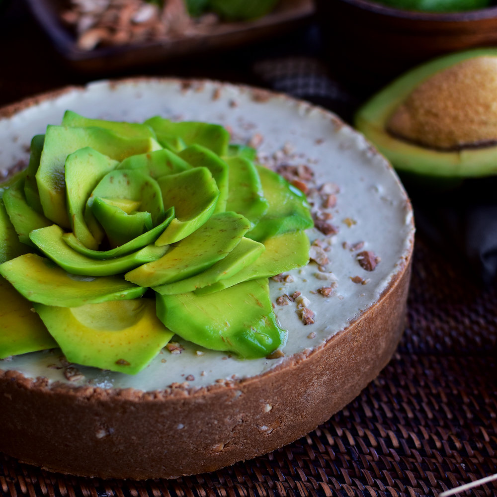 Avocado Cheese Cake with Pili Nuts from Vikings SM Marikina