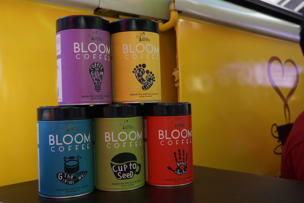 On photo:    Henry and Sons Bloom Coffee