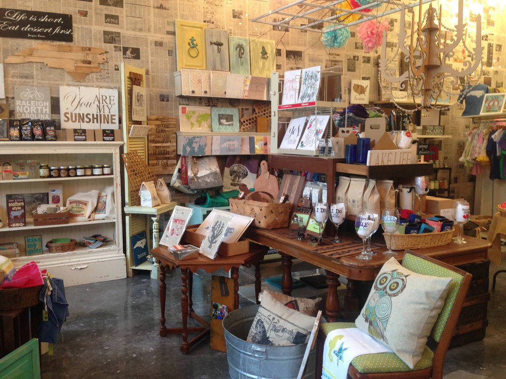 made shop in cary's stone creek village. photo courtesy of made.