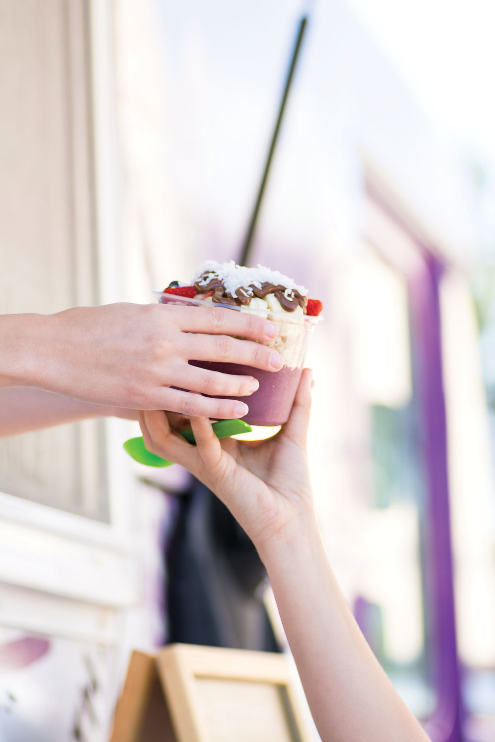 best food truck: buoy bowls acai photo by ginny williams photography