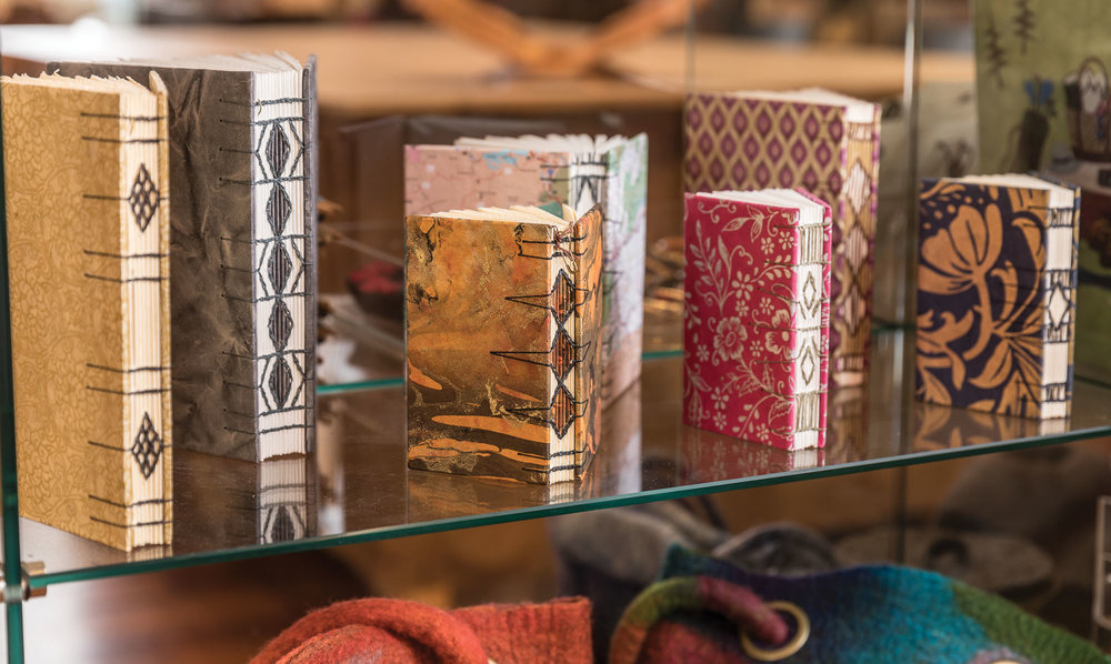 Coptic Stitch Bound Journals