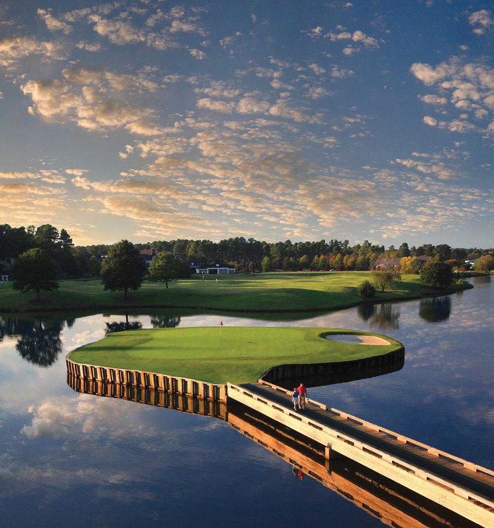 Cary's Prestonwood Country Club is the only private club in the Triangle that offers 54 championship holes. Originally designed by Tom Jackson, it was recently renovated and updated by  Rick Robbins—a Prestonwood resident until recently, when he moved to Compass Pointe Golf Club near Wilmington.